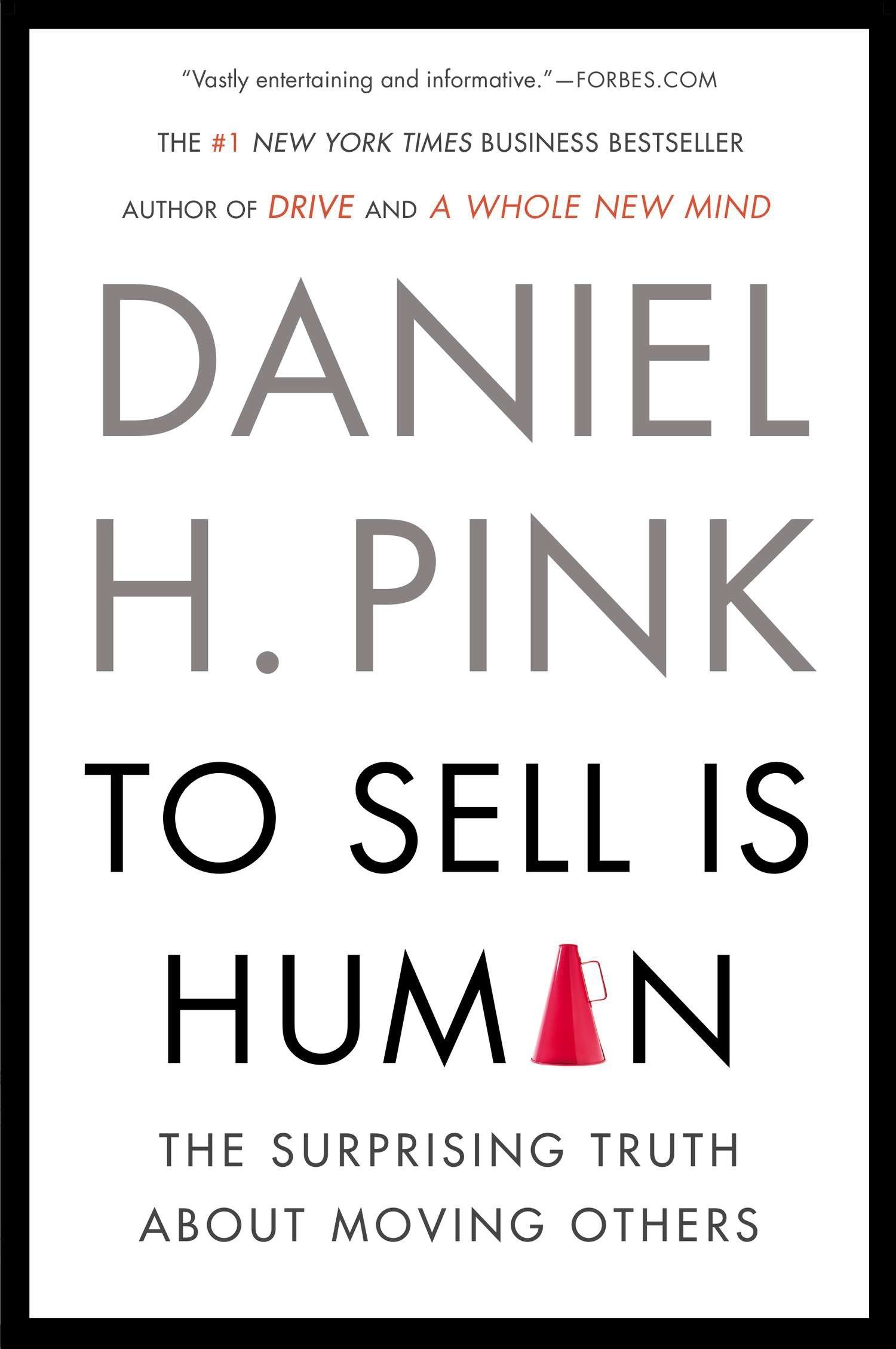 Cover Book: To Sell Is Human
